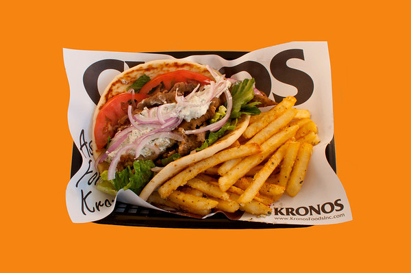 The best Gyros in Las Vegas at My Buddy's Greek Cafe